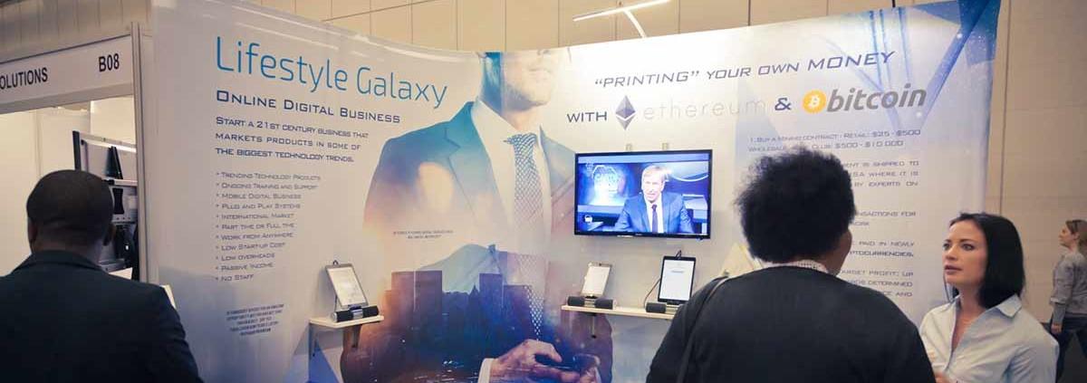 Lifestyle Galaxy Banner design